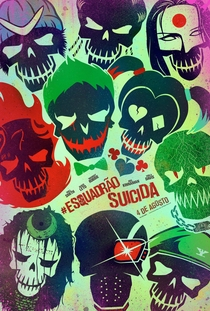 Esquadrão Suicida - Poster / Capa / Cartaz - Oficial 9
