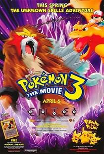 Pokémon 3: O Feitiço dos Unown - Poster / Capa / Cartaz - Oficial 3
