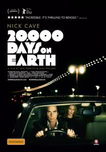 Nick Cave - 20.000 dias na Terra - Poster / Capa / Cartaz - Oficial 1