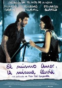 O Mesmo Amor, a Mesma Chuva - Poster / Capa / Cartaz - Oficial 1