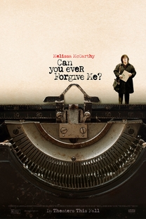 Can You Ever Forgive Me? - Poster / Capa / Cartaz - Oficial 1