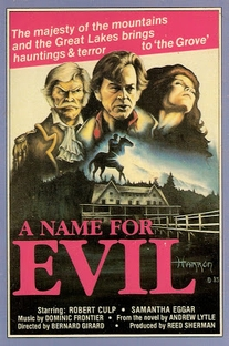 A Name for Evil - Poster / Capa / Cartaz - Oficial 3