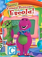 Barney - Vamos Brincar de Escola! - Poster / Capa / Cartaz - Oficial 1