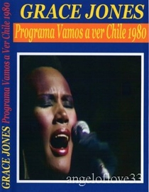Grace Jones - Live in Chile - Poster / Capa / Cartaz - Oficial 1