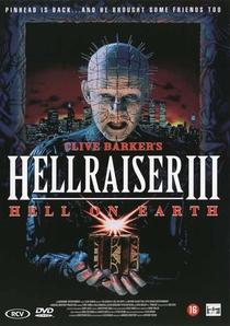 Hellraiser III - Inferno na Terra - Poster / Capa / Cartaz - Oficial 7