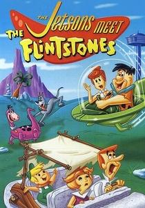 Os Jetsons e os Flintstones se Encontram - Poster / Capa / Cartaz - Oficial 1