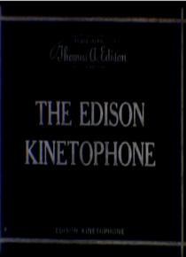 O Cinetofone de Edison - Poster / Capa / Cartaz - Oficial 1