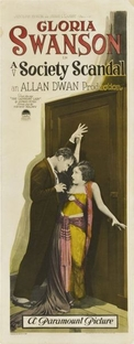 A Society Scandal - Poster / Capa / Cartaz - Oficial 1
