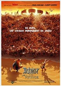 Asterix e os Vikings - Poster / Capa / Cartaz - Oficial 4