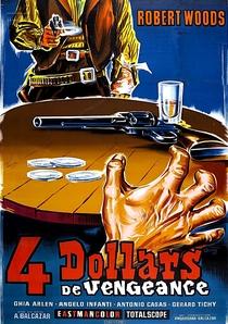 4 Dólares de Vingança para Ringo - Poster / Capa / Cartaz - Oficial 1
