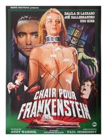 Carne para Frankenstein - Poster / Capa / Cartaz - Oficial 9
