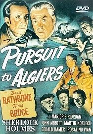 Sherlock Holmes - Desforra em Argel - Poster / Capa / Cartaz - Oficial 1