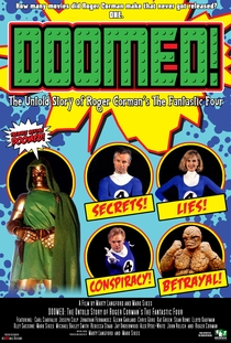 "Doomed: The Untold Story of Roger Corman's ""The Fantastic Four"" - Poster / Capa / Cartaz - Oficial 1"
