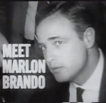 Meet Marlon Brando - Poster / Capa / Cartaz - Oficial 1