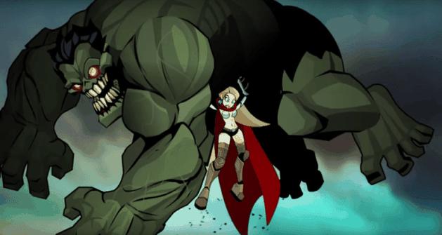 Thor vs Hulk Zumbi: a animação feita por fãs da qual você não sabia que precisava