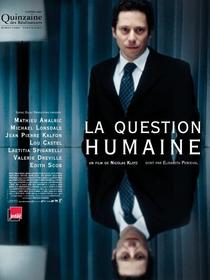 A Questão Humana - Poster / Capa / Cartaz - Oficial 1