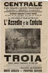 A Queda de Tróia - Poster / Capa / Cartaz - Oficial 1