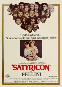 Satyricon de Fellini - Poster / Capa / Cartaz - Oficial 1