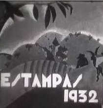 Estampas 1932 - Poster / Capa / Cartaz - Oficial 1