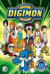 Digimon (2ª Temporada) - Poster / Capa / Cartaz - Oficial 1