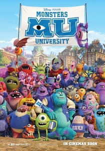 Universidade Monstros - Poster / Capa / Cartaz - Oficial 1