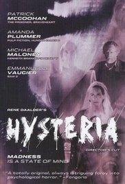 Hysteria - Poster / Capa / Cartaz - Oficial 1