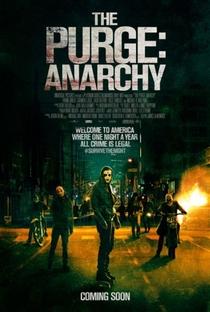 Uma Noite de Crime: Anarquia - Poster / Capa / Cartaz - Oficial 1