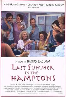 Last Summer in the Hamptons - Poster / Capa / Cartaz - Oficial 1