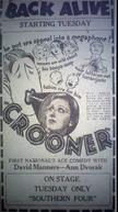 O Cancioneiro (Crooner)