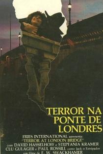 Terror na Ponte de Londres - Poster / Capa / Cartaz - Oficial 2