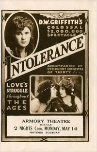 Intolerância - Poster / Capa / Cartaz - Oficial 3