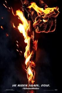 Motoqueiro Fantasma: Espírito de Vingança - Poster / Capa / Cartaz - Oficial 5