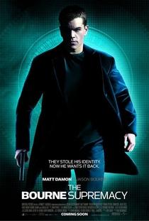 A Supremacia Bourne - Poster / Capa / Cartaz - Oficial 1