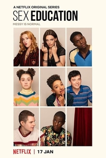 Sex Education (2ª Temporada) - Poster / Capa / Cartaz - Oficial 1