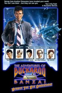 As Aventuras de Buckaroo Banzai - Poster / Capa / Cartaz - Oficial 3