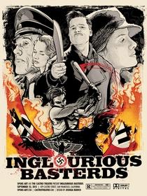Bastardos Inglórios - Poster / Capa / Cartaz - Oficial 18