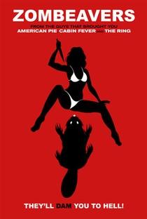 Castores Zumbis - Poster / Capa / Cartaz - Oficial 6