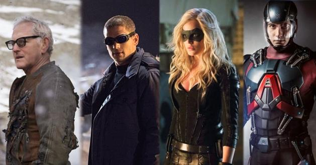 """""""Legends of Tomorrow"""" é a nova série da DC Comics no canal CW"""