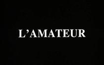 L'amateur - Poster / Capa / Cartaz - Oficial 1