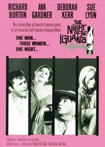 A Noite do Iguana - Poster / Capa / Cartaz - Oficial 1
