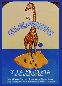 O Elefante e a Bicicleta - Poster / Capa / Cartaz - Oficial 1