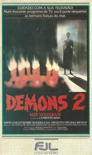 Demons 2 - Eles Voltaram - Poster / Capa / Cartaz - Oficial 2