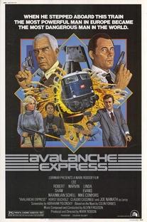 Pânico no Atlântico Express - Poster / Capa / Cartaz - Oficial 1