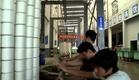 "Documentary Film ""Cotton Road"" scene: Dye Factory"