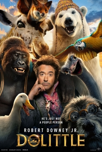 Dolittle - Poster / Capa / Cartaz - Oficial 2