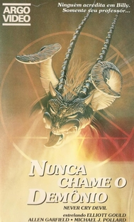 Nunca Chame o Demônio - Poster / Capa / Cartaz - Oficial 3