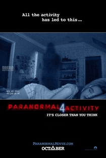 Atividade Paranormal 4 - Poster / Capa / Cartaz - Oficial 1