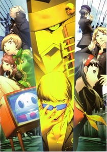 Persona 4: The Animation - Poster / Capa / Cartaz - Oficial 2