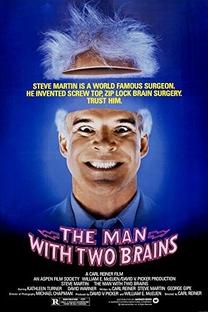 O Homem com Dois Cérebros - Poster / Capa / Cartaz - Oficial 2