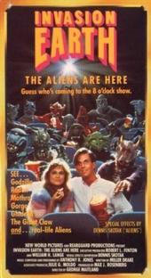 Invasão da Terra - Os Alienígenas Estão Aqui - Poster / Capa / Cartaz - Oficial 1